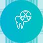Диагностика зубов, иконка