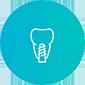 Имплантация зубов под ключ, иконка